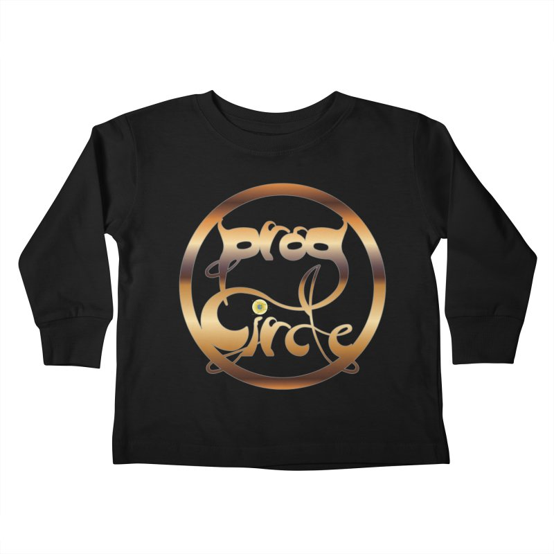 PC13 Prog Circle OFFICIAL GOLD NONENIANO Kids Toddler Longsleeve T-Shirt by LajarinDream