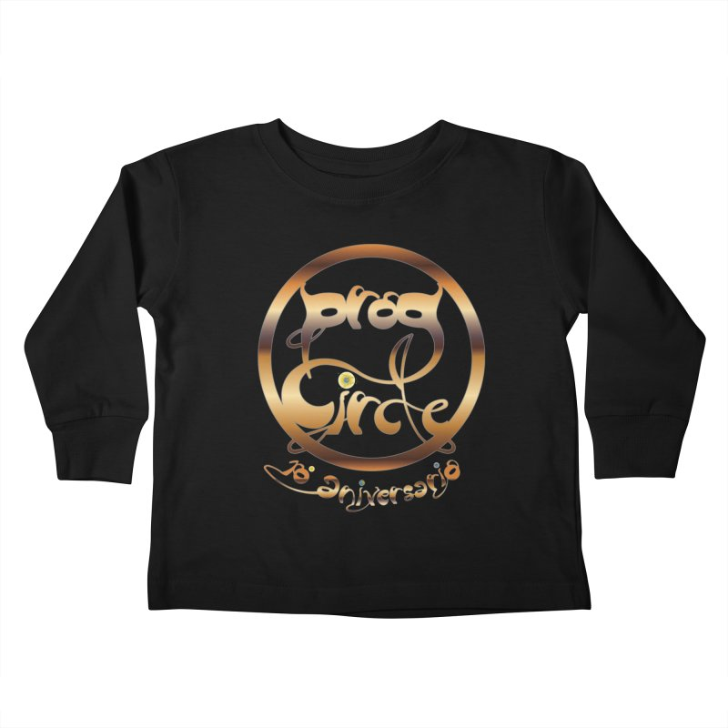 PC14 Prog Circle OFFICIAL GOLD 10º  NONENIANO Kids Toddler Longsleeve T-Shirt by LajarinDream