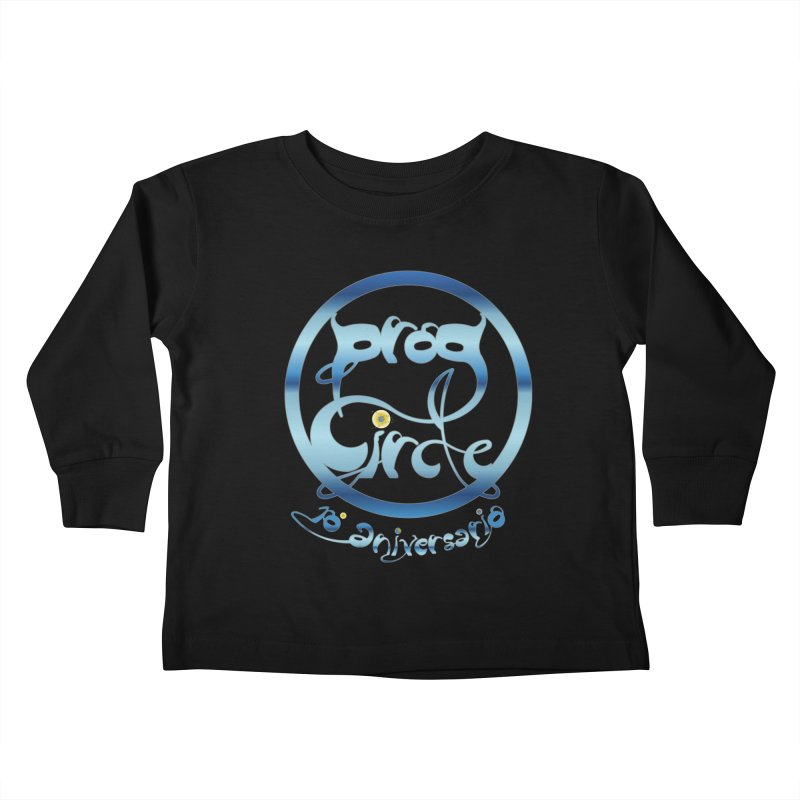 PC16 Prog Circle OFFICIAL BLUE 10 NONENIANO Kids Toddler Longsleeve T-Shirt by LajarinDream