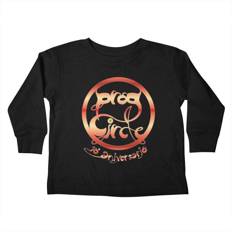 PC18 Prog Circle OFFICIAL RED 10 NONENIANO Kids Toddler Longsleeve T-Shirt by LajarinDream
