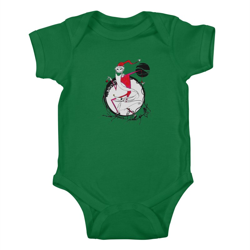 D25 The King Of Halloween Kids Baby Bodysuit by LajarinDream
