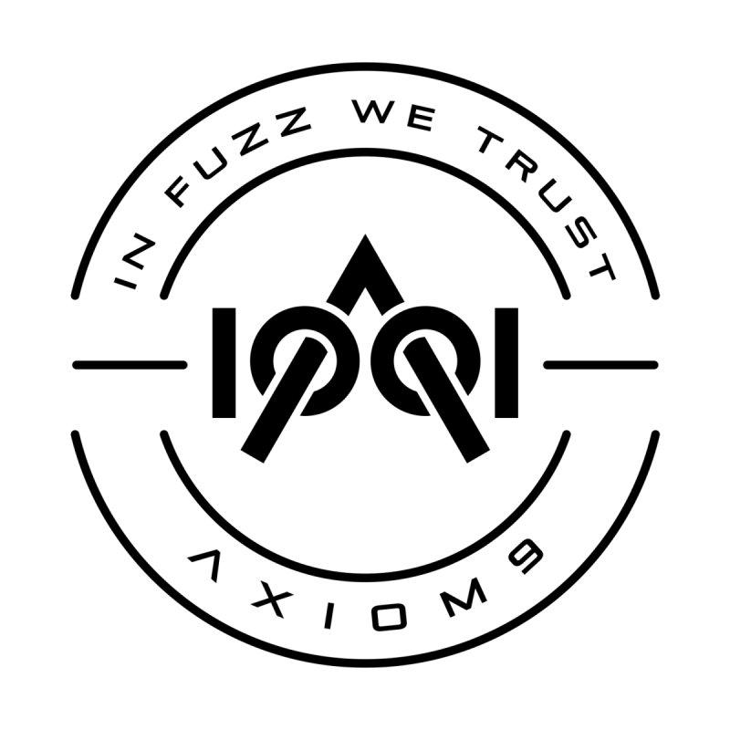 Axiom9 Black Official Logo. Art by Ana Marín Home Bath Mat by LajarinDream