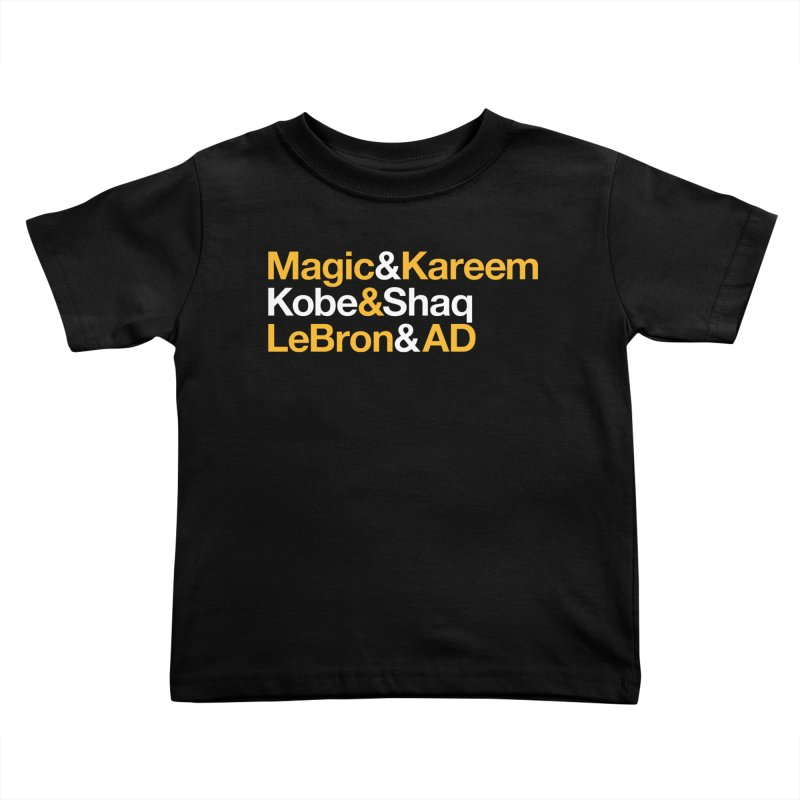 LeBron&AD Kids Toddler T-Shirt by Lakers Nation's Artist Shop
