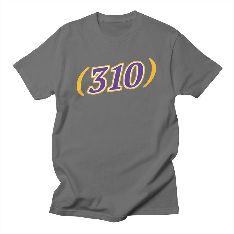 310 Men's T-Shirt by Lakers Nation's Artist Shop
