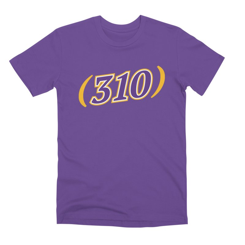 310 Men's Premium T-Shirt by Lakers Nation's Artist Shop