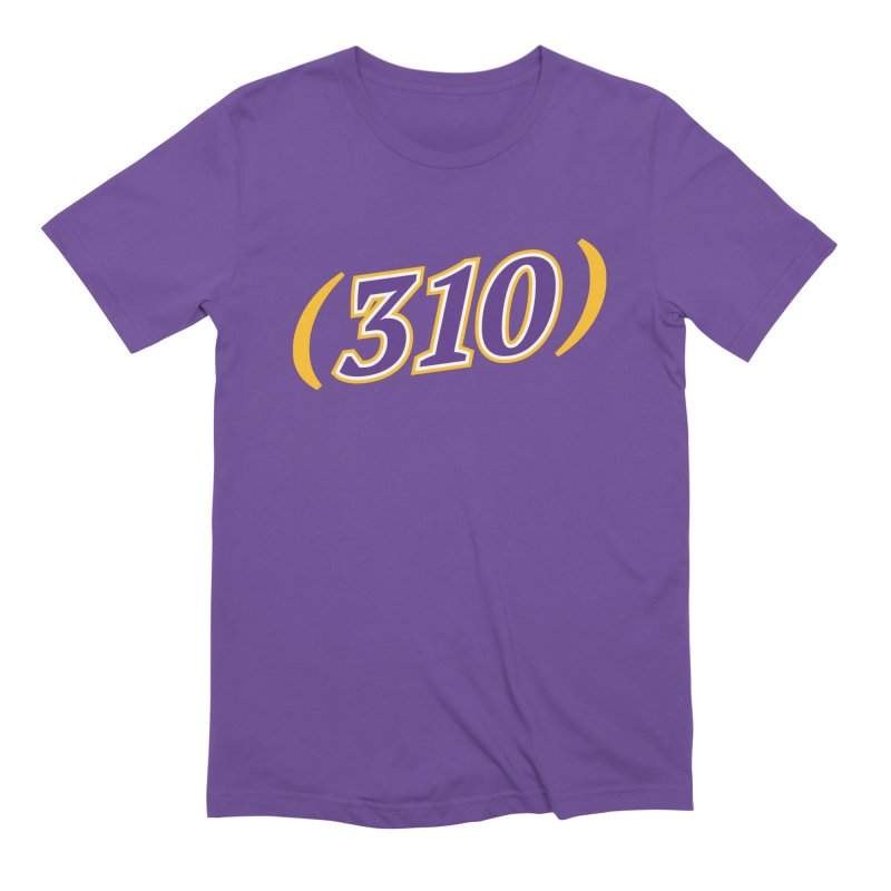 310 Men's Extra Soft T-Shirt by Lakers Nation's Artist Shop