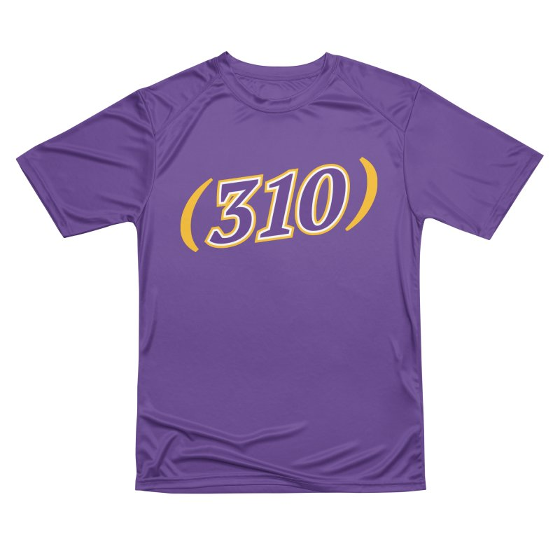 310 Men's Performance T-Shirt by Lakers Nation's Artist Shop