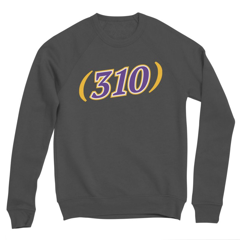 310 Men's Sweatshirt by Lakers Nation's Artist Shop