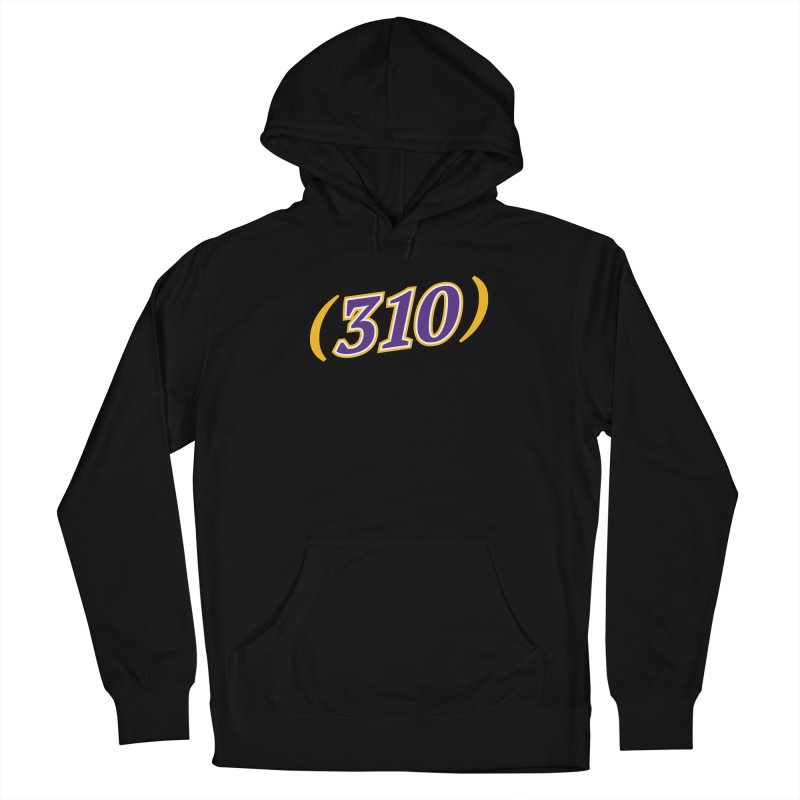 310 Men's French Terry Pullover Hoody by Lakers Nation's Artist Shop