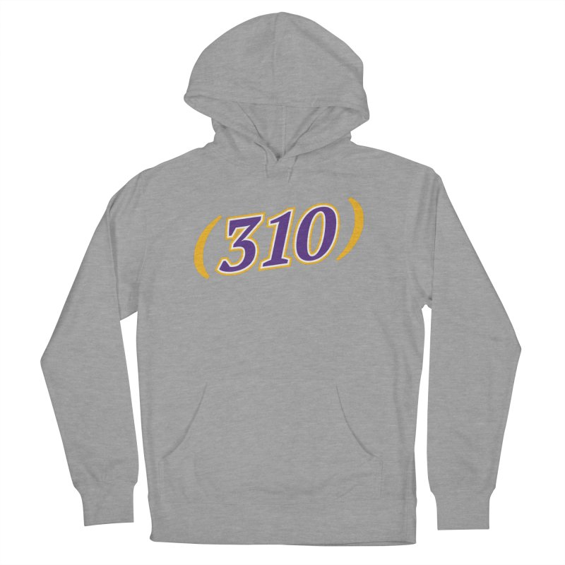 310 Women's French Terry Pullover Hoody by Lakers Nation's Artist Shop