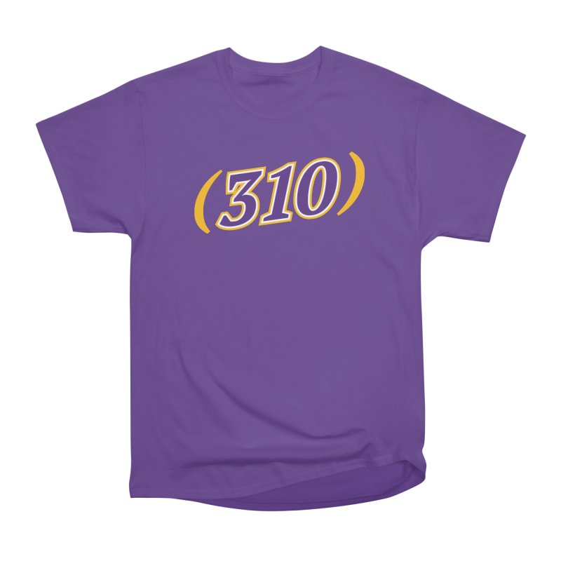 310 Men's Heavyweight T-Shirt by Lakers Nation's Artist Shop