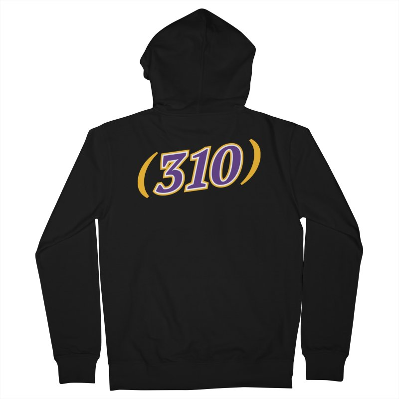 310 Women's Zip-Up Hoody by Lakers Nation's Artist Shop