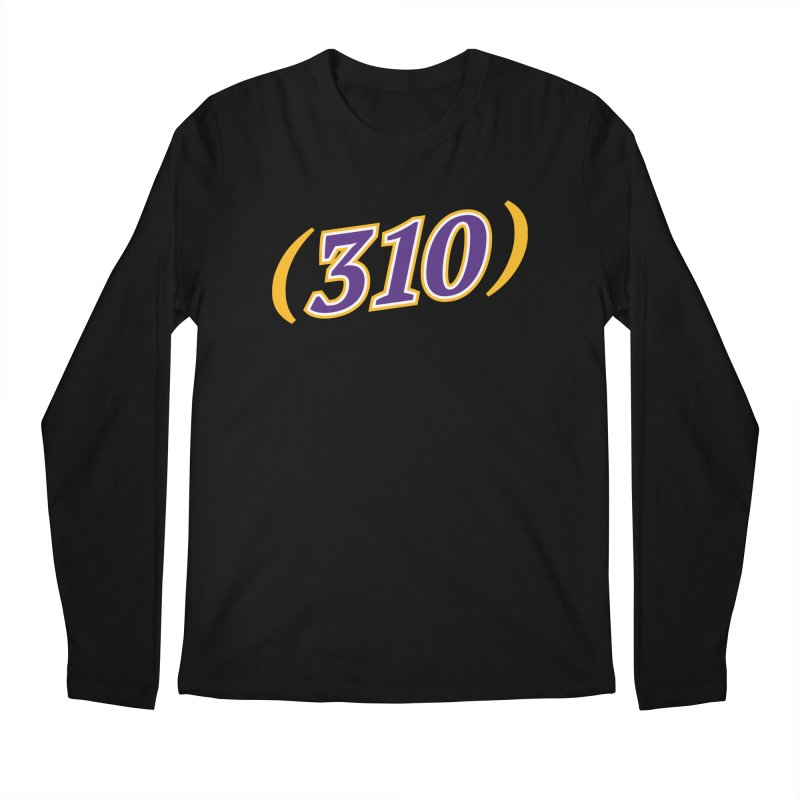 310 Men's Longsleeve T-Shirt by Lakers Nation's Artist Shop