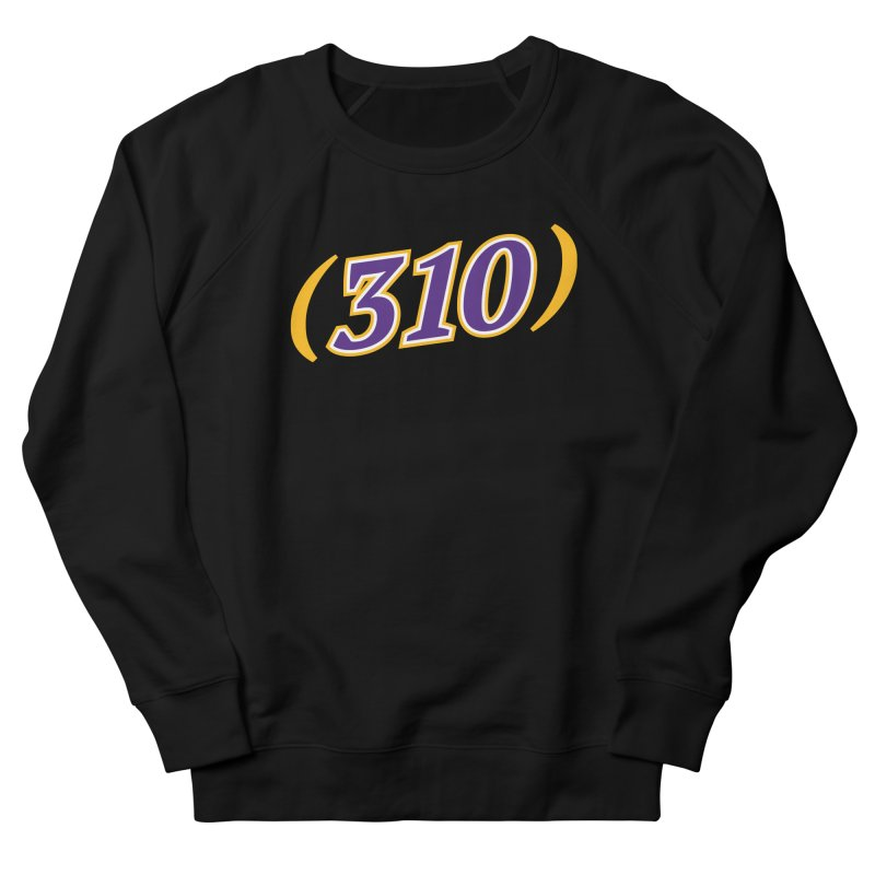 310 Men's French Terry Sweatshirt by Lakers Nation's Artist Shop