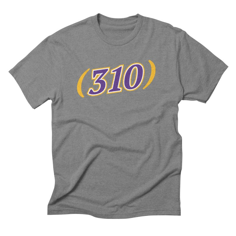 310 Men's Triblend T-Shirt by Lakers Nation's Artist Shop