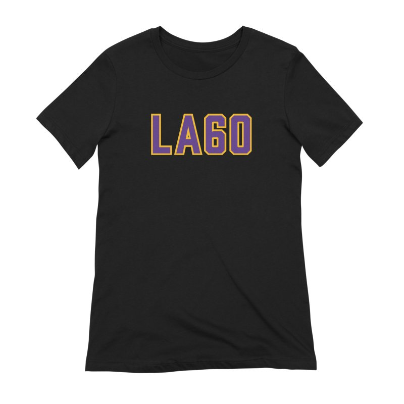Sixty Years Women's Extra Soft T-Shirt by Lakers Nation's Artist Shop