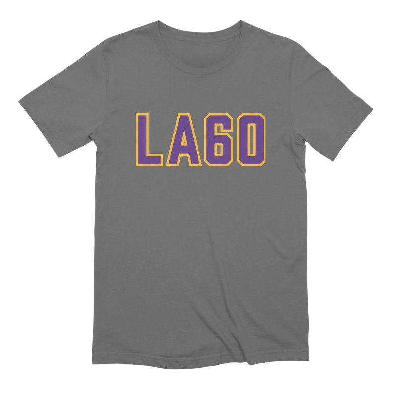Sixty Years Men's Extra Soft T-Shirt by Lakers Nation's Artist Shop