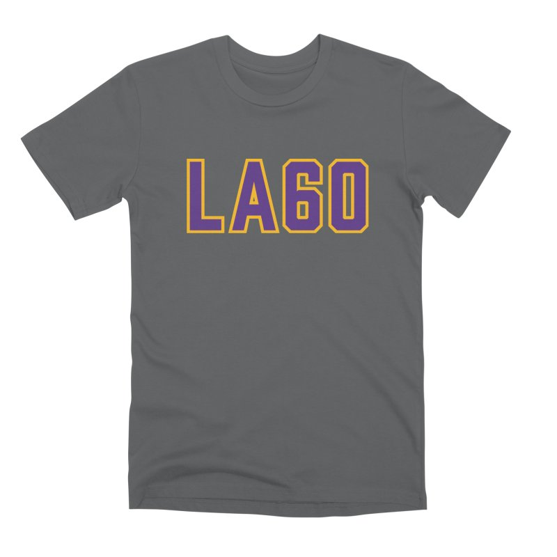 Sixty Years Men's Premium T-Shirt by Lakers Nation's Artist Shop