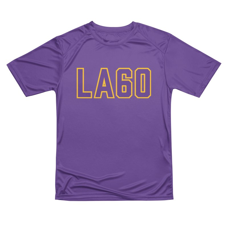 Sixty Years Women's Performance Unisex T-Shirt by Lakers Nation's Artist Shop