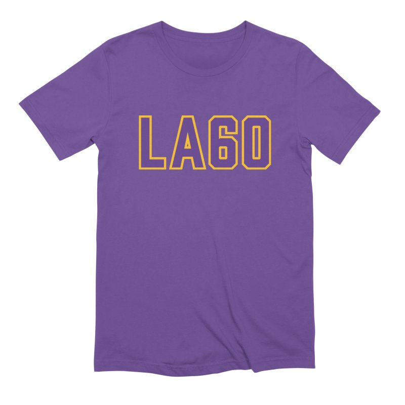 Sixty Years Men's T-Shirt by Lakers Nation's Artist Shop