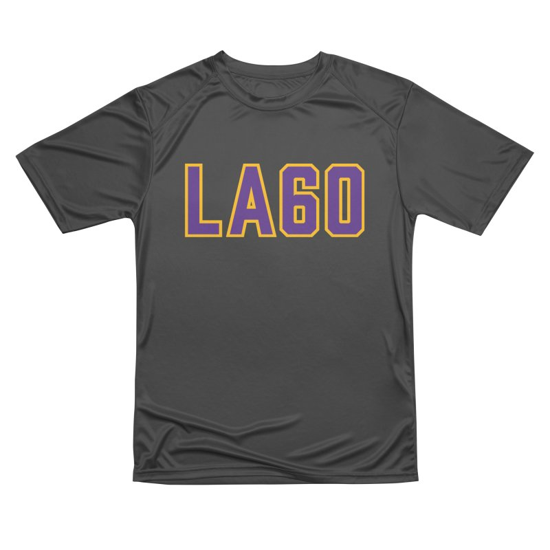 Sixty Years Men's Performance T-Shirt by Lakers Nation's Artist Shop