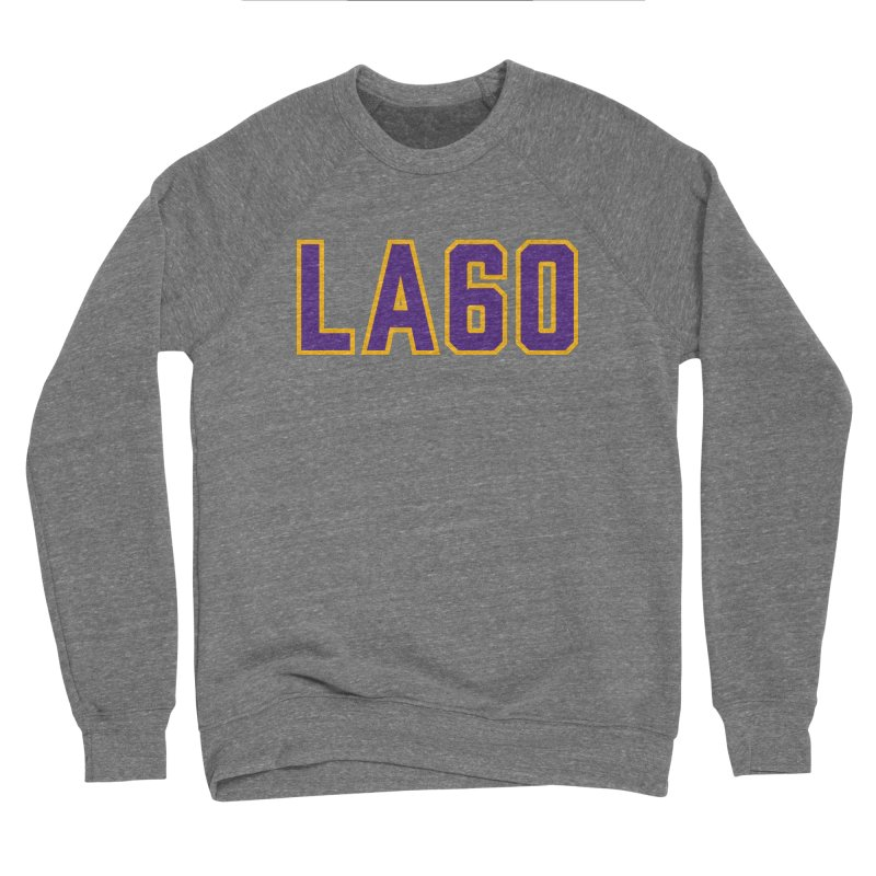 Sixty Years Men's Sweatshirt by Lakers Nation's Artist Shop