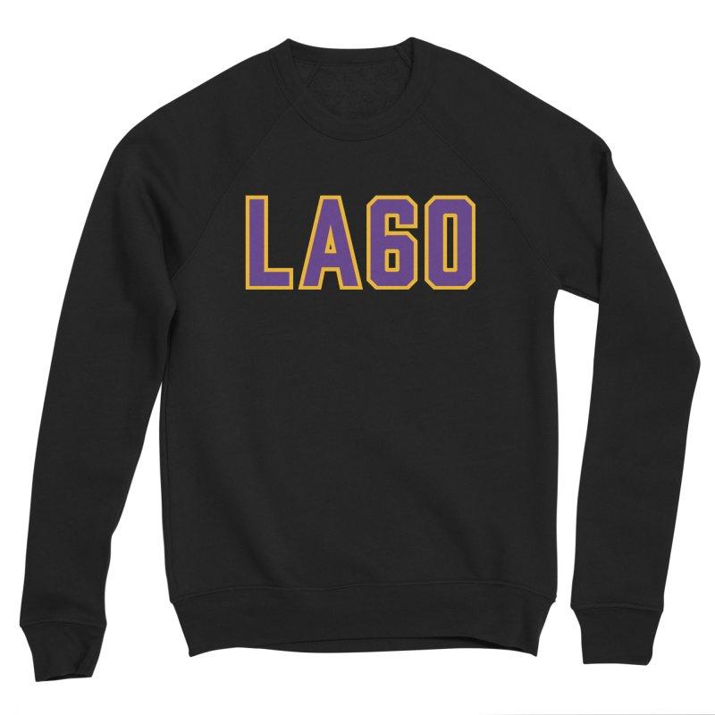 Sixty Years Women's Sponge Fleece Sweatshirt by Lakers Nation's Artist Shop
