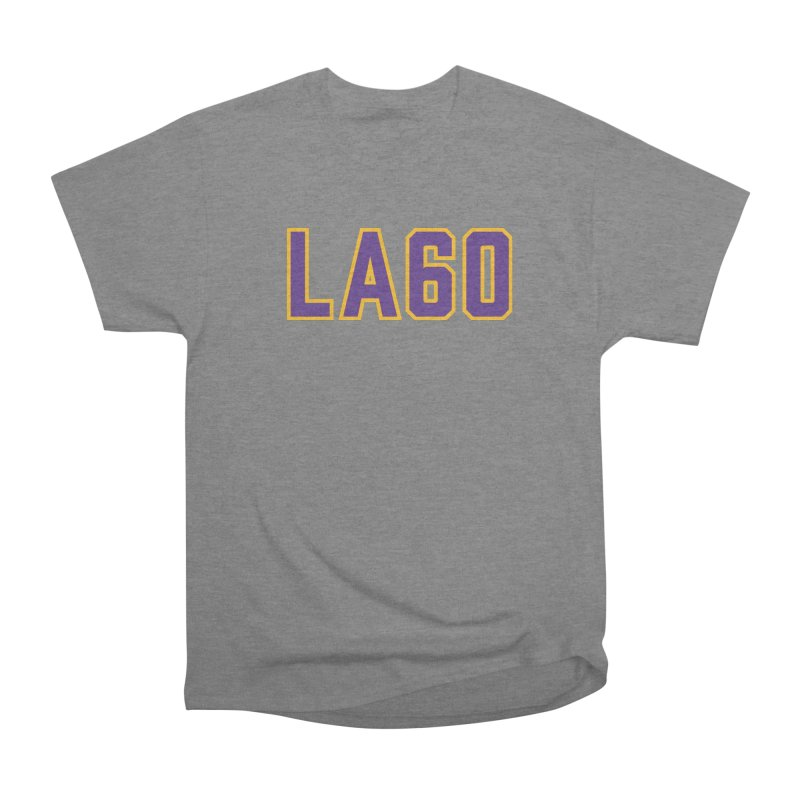 Sixty Years Men's Heavyweight T-Shirt by Lakers Nation's Artist Shop
