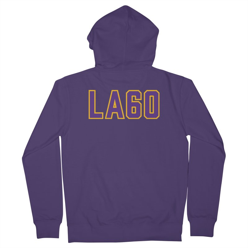 Sixty Years Women's Zip-Up Hoody by Lakers Nation's Artist Shop