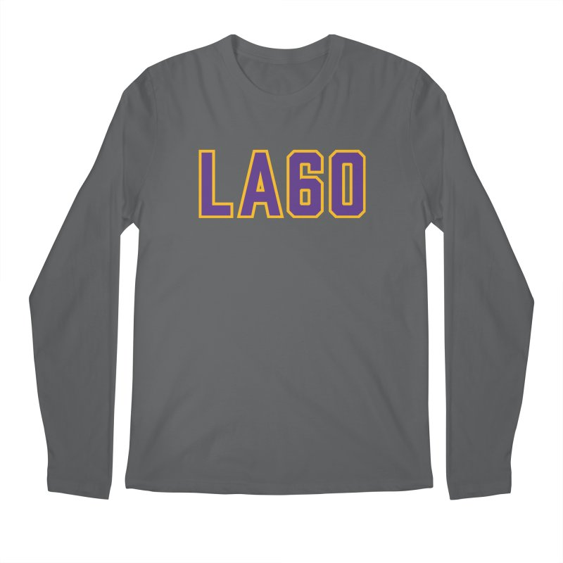 Sixty Years Men's Longsleeve T-Shirt by Lakers Nation's Artist Shop