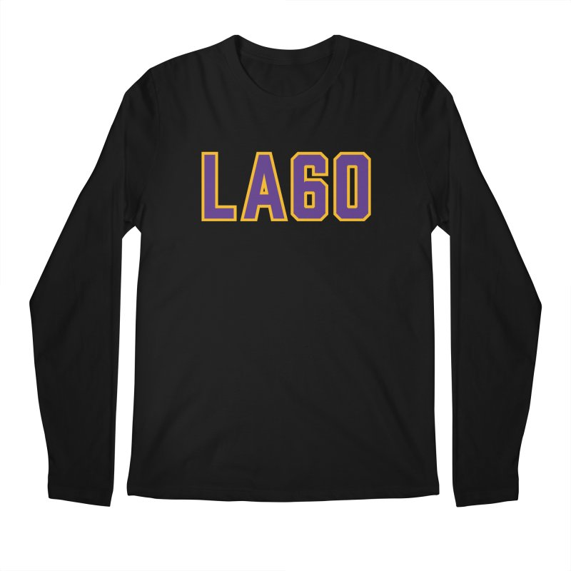 Sixty Years Men's Regular Longsleeve T-Shirt by Lakers Nation's Artist Shop