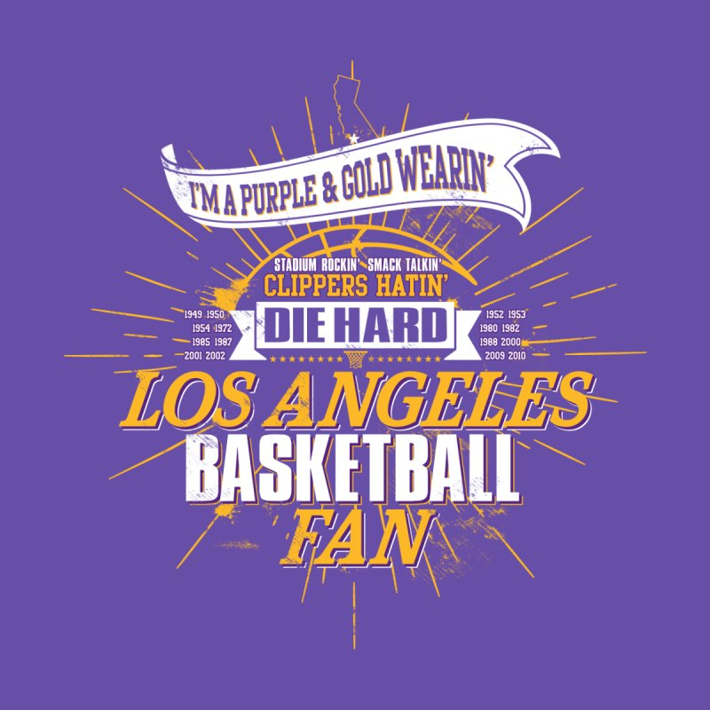 LAL Fan Home Tapestry by Lakers Nation's Artist Shop