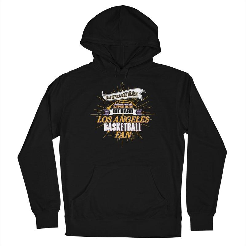 LAL Fan Men's Pullover Hoody by Lakers Nation's Artist Shop