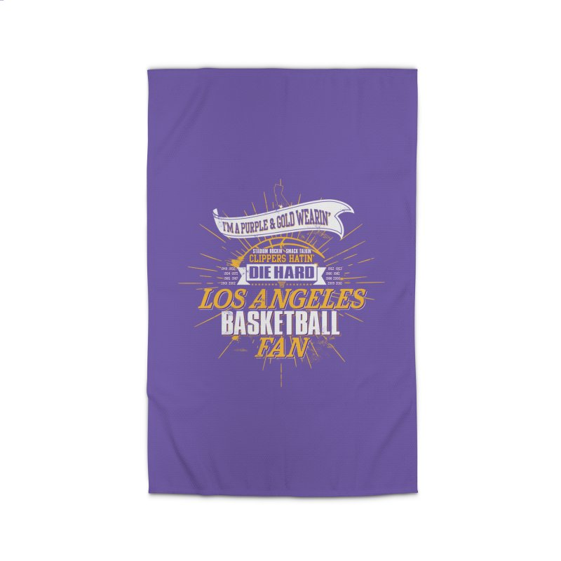 LAL Fan Home Rug by Lakers Nation's Artist Shop