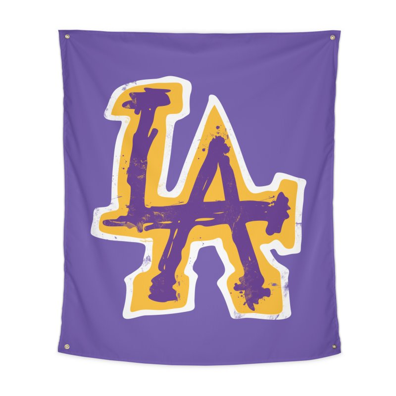 FEAR L.A. Home Tapestry by Lakers Nation's Artist Shop