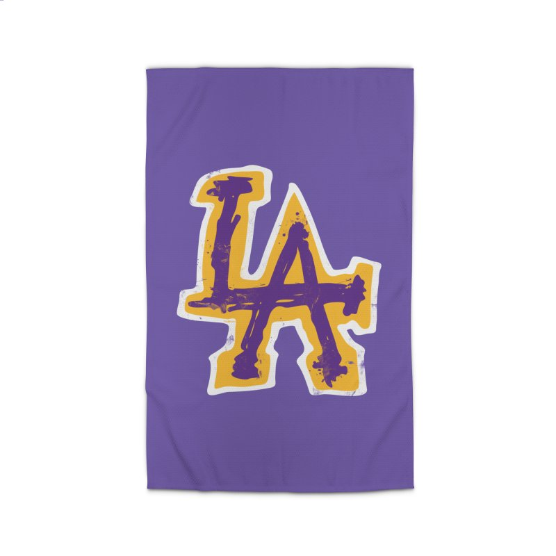 FEAR L.A. Home Rug by Lakers Nation's Artist Shop