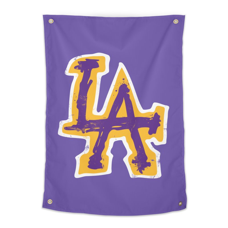 FEAR L.A. Home Tapestry by lakersnation's Artist Shop