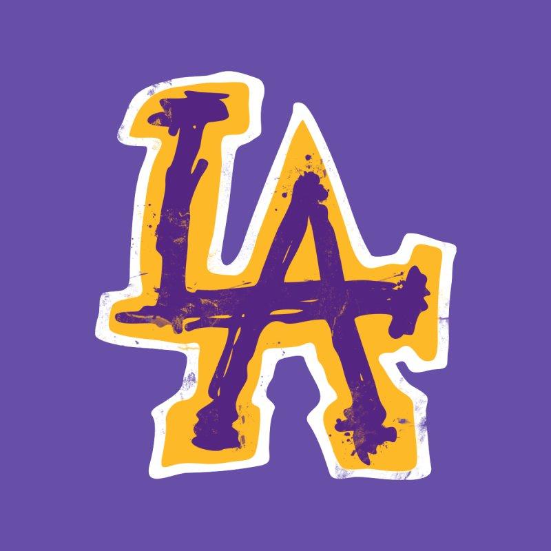 FEAR L.A. Men's T-Shirt by Lakers Nation's Artist Shop