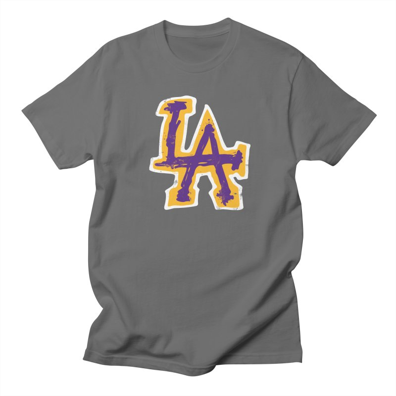 FEAR L.A. Men's T-Shirt by Lakers Nation's Artist Shop