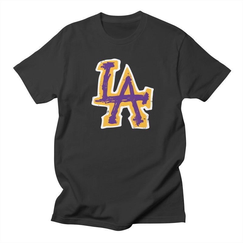 FEAR L.A. Men's T-Shirt by lakersnation's Artist Shop