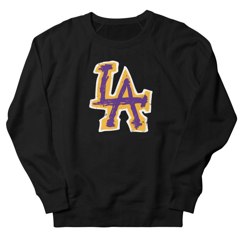 FEAR L.A. Women's Sweatshirt by Lakers Nation's Artist Shop