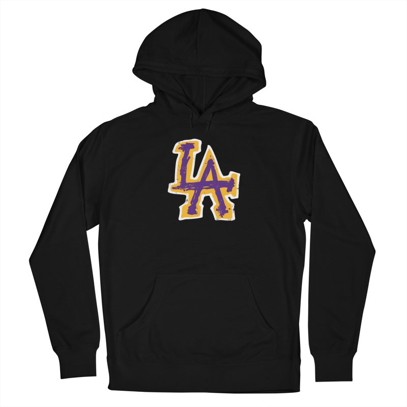 FEAR L.A. Men's Pullover Hoody by Lakers Nation's Artist Shop