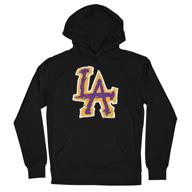 FEAR L.A. Women's French Terry Pullover Hoody by lakersnation's Artist Shop