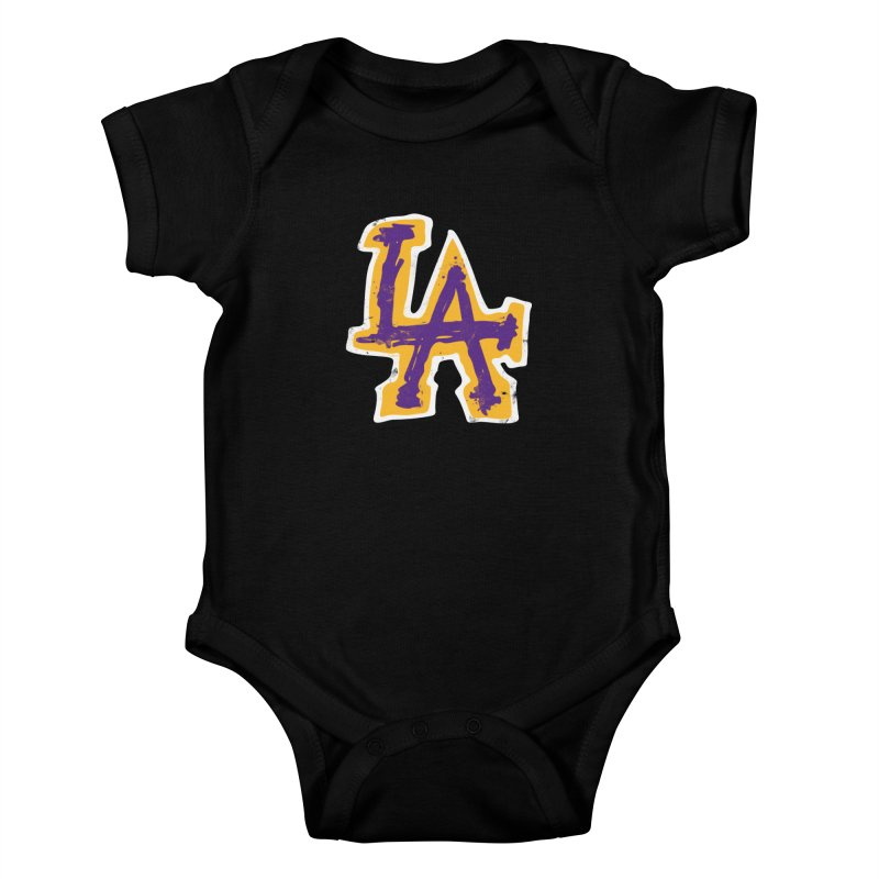 FEAR L.A. Kids Baby Bodysuit by Lakers Nation's Artist Shop