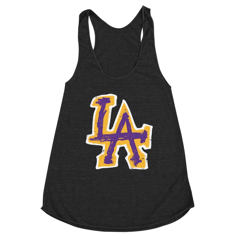 FEAR L.A. Women's Tank by Lakers Nation's Artist Shop