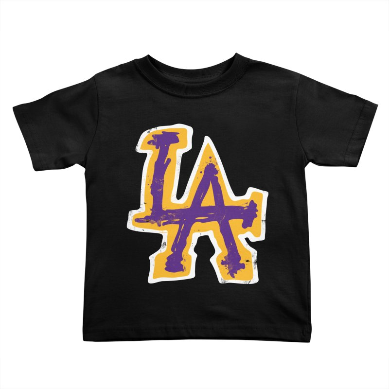 FEAR L.A. Kids Toddler T-Shirt by Lakers Nation's Artist Shop