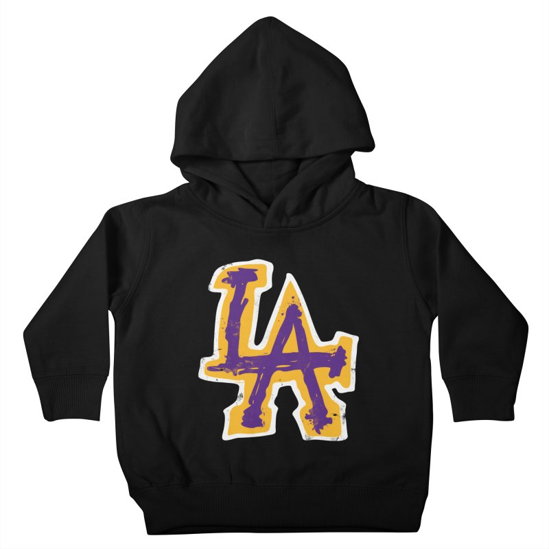 FEAR L.A. Kids Toddler Pullover Hoody by Lakers Nation's Artist Shop