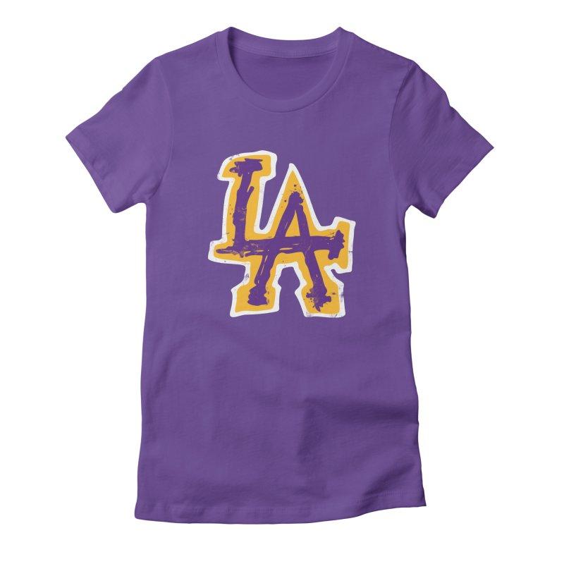 FEAR L.A. Women's T-Shirt by lakersnation's Artist Shop