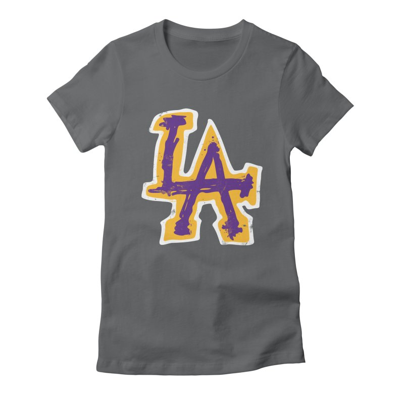 FEAR L.A. Women's Fitted T-Shirt by lakersnation's Artist Shop