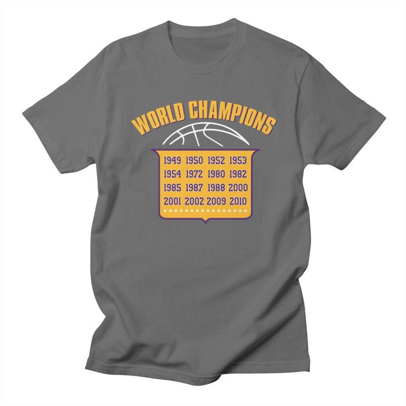 World Champions Men's T-Shirt by lakersnation's Artist Shop